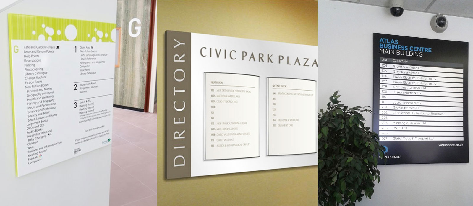 Directory Signs | Beaufort SC | Printology