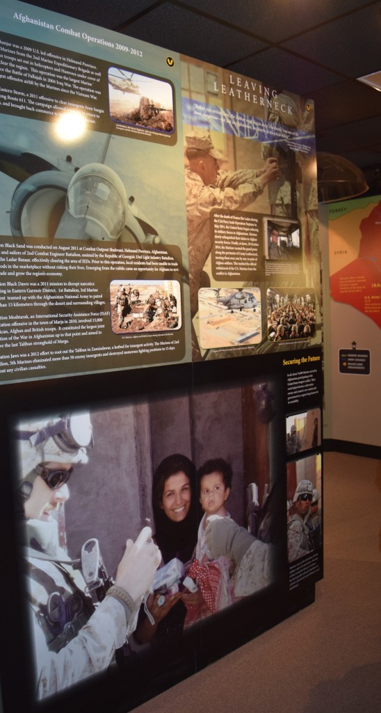 interpretative museum panels-Beaufort signs-Parris Island Museum