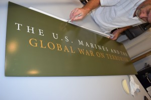 Beaufort signs-Parris Island interpretative museum panels