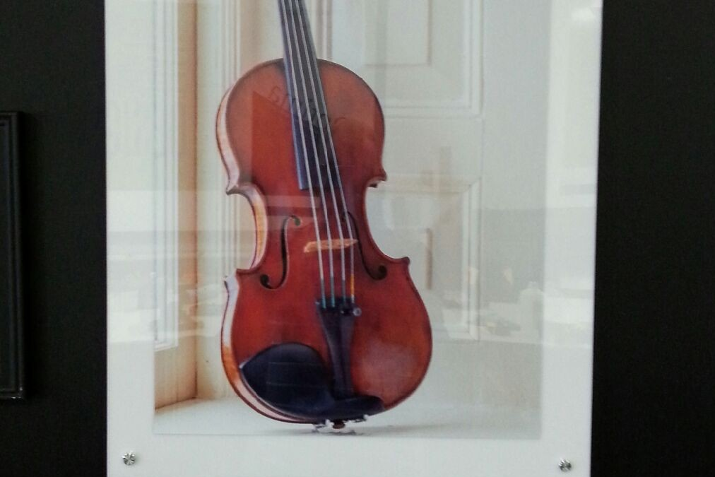 Printing a Photograph of a $5 Million Violin
