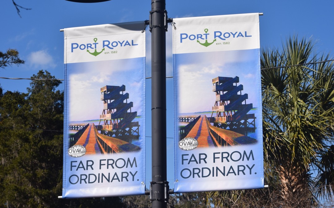 Far from Ordinary Street Pole Banners