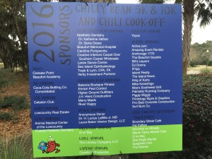 event signage, event signs, race signs, race graphics, event graphics, Beaufort, Hilton Head, Bluffton