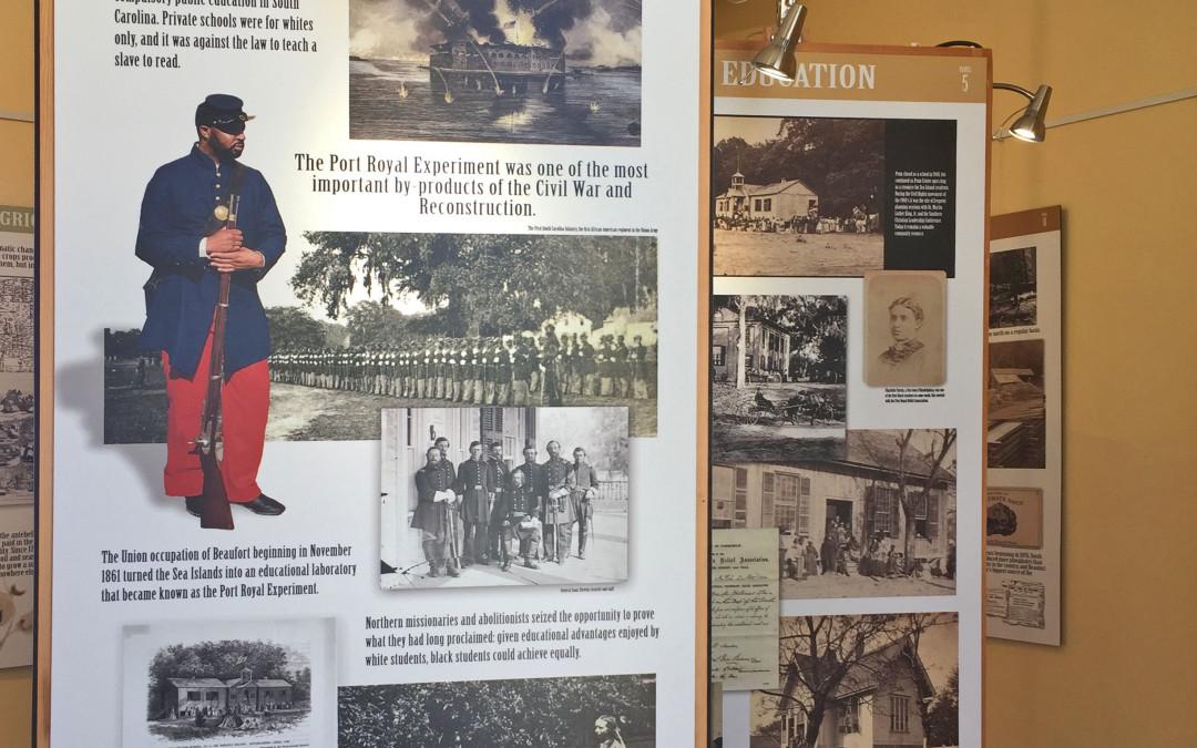 Museum Exhibit on Reconstruction Era
