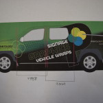 truck wrap; vehicle wrap; vehicle graphics; Beaufort SC; Bluffton SC