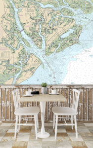 maps_nautical charts_custom wallpaper
